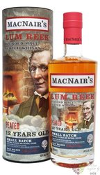 MacNairs Lum Reek Peated aged 12 years blended malt Scotch whisky 46% vol.  0.70 l
