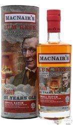 MacNairs Lum Reek Peated aged 21 years blended malt Scotch whisky 48% vol.  0.70 l