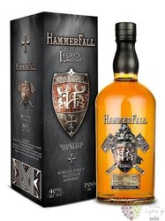 "Hammerfall "" Legacy "" single malt Speyside whisky 46% vol.  0.70 l"