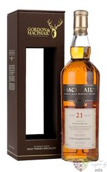 MacPhail´s aged 21 years Scotland whisky Gordon & MacPhail 40% vol.   0.70 l