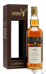 MacPhail´s aged 40 years Scotland whisky Gordon & MacPhail 40% vol.   0.70 l
