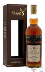MacPhail´s aged 50 years Scotland whisky Gordon & MacPhail 40% vol.   0.70 l