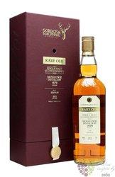 "Mosstowie 1979 "" Gordon & MacPhail rare old "" Speyside whisky by Gordon & MacPhail 46% vol."