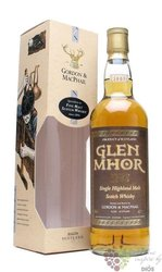 "Glen Mhor 1965 "" Rare vintage of Gordon & MacPhail "" Highlands whisky 43% vol. 0.70 l"