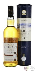 Muirhead´s Silver Seal aged 12 years Speyside single malt whisky 40% vol.  0.70l