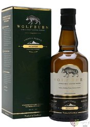 "Wolfburn "" Morven lightly peated "" Highlands whisky 46% vol. 0.70 l"