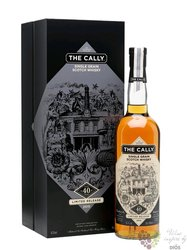 """Caledonian 1974 """" the Cally """" aged 40 years single grain scotch whisky 53.3% vol. 0.70 l"""