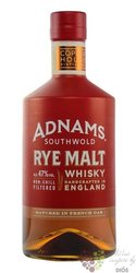 "Adnams Southwold "" Rye malt "" English whisky 47% vol.  0.70 l"