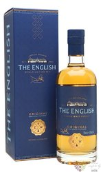 "the English "" Original "" English single malt whisky 43% vol. 0.70 l"