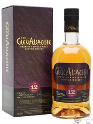 GlenAllachie aged 12 years single malt Speyside whisky 46% vol.  0.70 l