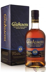 GlenAllachie aged 15 years single malt Speyside whisky 46% vol.  0.70 l