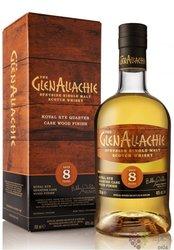 "GlenAllachie "" Rye Quarter Cask Finish "" aged 8 years single malt Speyside whisky 48% vol.  0.70 l"