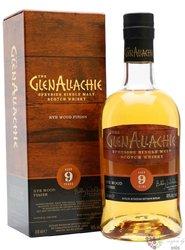 "GlenAllachie "" Koval Rye Quarter cask "" aged 9 years Speyside whisky 48% vol.  0.70 l"