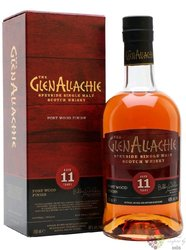"""GlenAllachie """" Port wood """" aged 11 years Speyside whisky 48% vol.  0.70 l"""