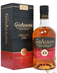 "GlenAllachie Virgin oak "" Spanish oak "" aged 12 years Speyside whisky 48% vol.  0.70 l"