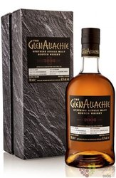 """GlenAllachie Single cask 2006 """" PX """" aged 13 years Speyside whisky 59.9% vol.  0.70 l"""