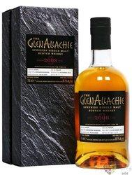 "GlenAllachie Single cask 2008 "" Port Pipe "" Speyside whisky 54.8% vol.  0.70 l"