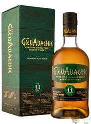 """GlenAllachie """" Moscatel wood """" aged 11 years Speyside whisky 48% vol.  0.70 l"""