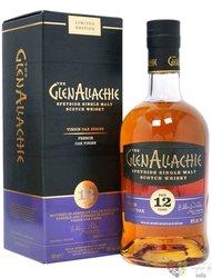 "GlenAllachie Virgin oak "" French oak "" aged 12 years Speyside whisky 48% vol.  0.70 l"