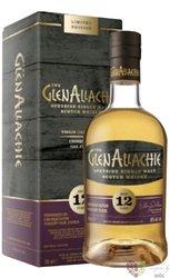"GlenAllachie Virgin oak "" Chinquapin oak "" aged 12 years Speyside whisky 48% vol.  0.70 l"