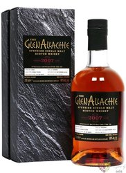 """GlenAllachie Single cask 2007 """" Port Pipe """" aged 12 years Speyside whisky 58.7% 0.70 l"""