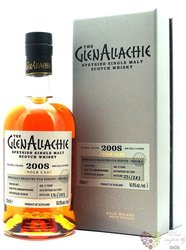 """GlenAllachie Single cask 2008 """" Chinquapin oak """" aged 12 years Speyside whisky 56% 0.70 l"""