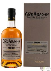 "GlenAllachie 2010 "" Single cask no. 4600 "" Speyside whisky 62.8% vol.  0.70 l"