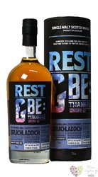 "Bruichladdich 2003 "" Rest & Be Thankful "" aged 12 years Islay whisky 59.3% vol.0.70 l"