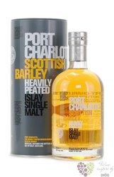 "Port Charlotte "" Scottish Barley Heavily Peated "" single malt Islay whisky 50% vol.  0.70 l"