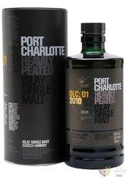 """Port Charlotte 2010 """" OLC:01 """" Islay whisky by Bruichladdich 55.1% vol.  0.70 l"""