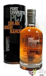 "Port Charlotte "" PC 7 "" Islay whisky by Bruichladdich 61% vol.    0.70 l"