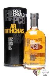 "Port Charlotte "" PC 8 "" Islay whisky by Bruichladdich 60.5% vol.  0.70 l"