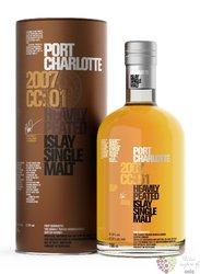 """Port Charlotte 2007 """" cc.01 """" Islay whisky by Bruichladdich 57.8% vol.  0.70 l"""