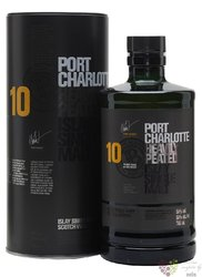 Port Charlotte aged 10 years single malt Islay whisky 50% vol.  0.70 l