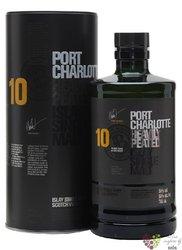 Port Charlotte aged 10 years single malt Islay whisky 50% vol.  1.00 l
