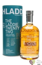 "Bruichladdich "" Laddie Twenty two "" aged 22 years Single malt Islay whisky 46% vol.  0.70 l"