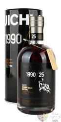 "Bruichladdich 1990 "" Cherry cask edition "" aged 25 years single malt Islay whisky 58.1%0.70l"