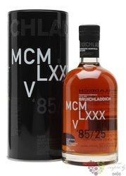 """Bruichladdich 1985 """" DNA.3 """" aged 25 years Single malt Islay whisky 51.1% vol.0.70 l"""