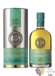 Bruichladdich 10 years old 2nd edition single malt Islay whisky 46% vol.  0.70 l