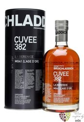"Bruichladdich "" cuvée 382 La Berenice "" aged 21 years Single malt Islay whisky 46% vol.  0.70 l"