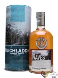 """Bruichladdich """" Waves """" single malt Islay whisky 46% vol.  0.05 l"""