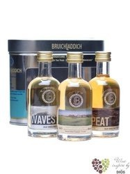 "Bruichladdich "" Collection "" exclusive set of Single malt Islay whisky 46% vol.3 x 0.05 l"