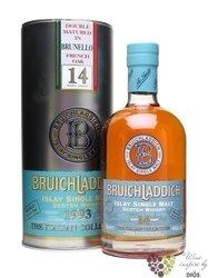 "Bruichladdich 1993 "" Angelo Gaja Brunello French oak "" aged 14 years Islay whisky 46% vol.  0.70 l"