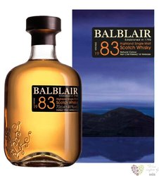 Balblair 1983 single malt Highland whisky 46% vol.     0.70 l