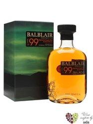Balblair 1999 single malt Highland whisky 46% vol.     1.00 l