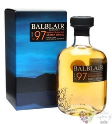 Balblair 1997 2nd release single malt Highland Scotch whisky 46% vol.    0.70 l