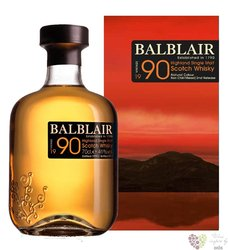 Balblair 1990 single malt Highland whisky 46% vol.     0.70 l