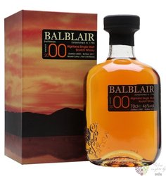Balblair 2000 vintage single malt Highland whisky 43% vol.    0.70 l