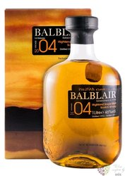 "Balblair 2004 "" Sherry cask matured "" Highland whisky 46% vol.  1.00 l"
