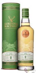 "Balblair "" Gordon & MacPhail Discovery "" aged 12 years Highland whisky 43% vol.  0.70 l"